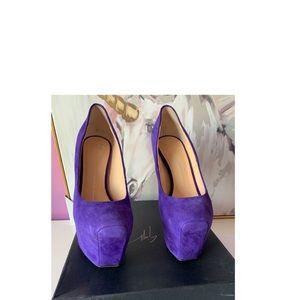 Giuseppe zanotti ambra high heel pumps platforms